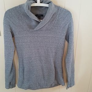 Sweaters - Cowl v-neck sweater